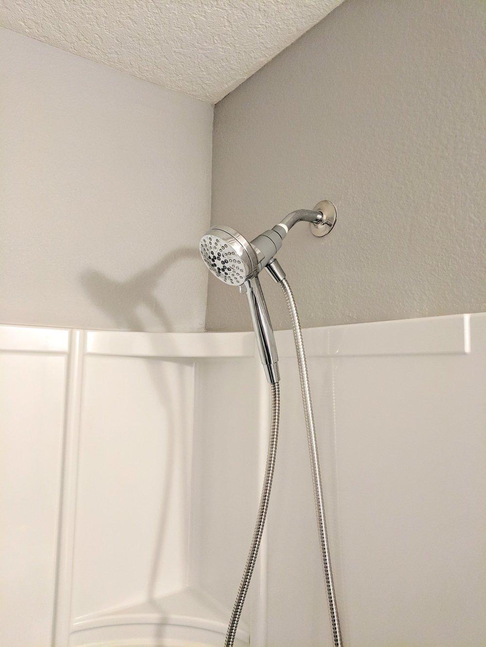 Enjoy your new shower head!