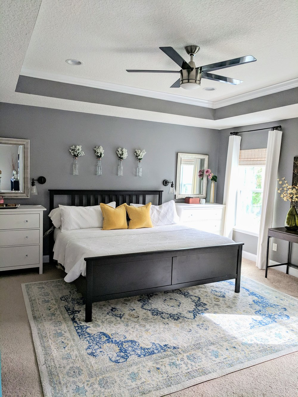 master bedroom winter updates
