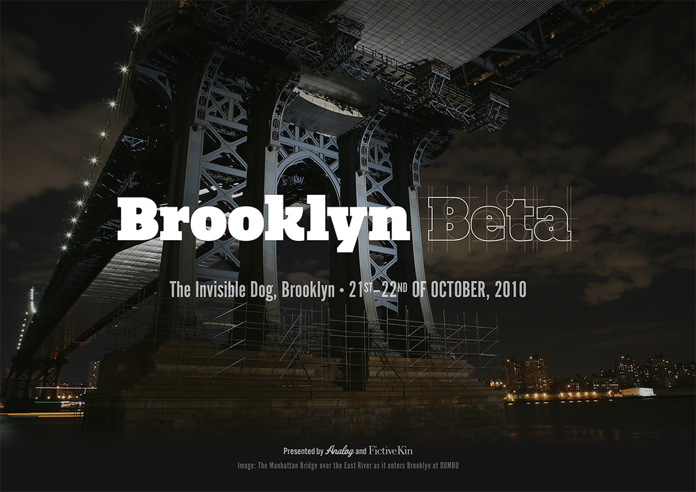 Identity for Brooklyn Beta - Poster by Jon Tan