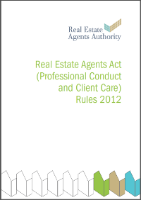 Real Estate Agents Act (Professional Conduct and Client Care) Rules 2012