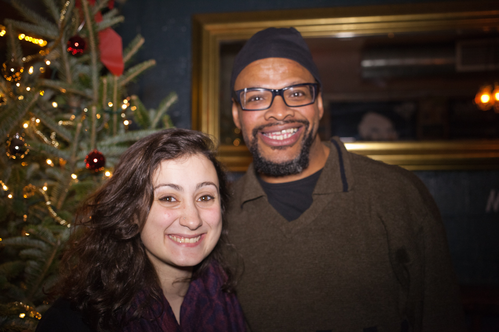 QUEER | ART | BROOKLYN  event.December 2014.Photo by Ryan Morris.