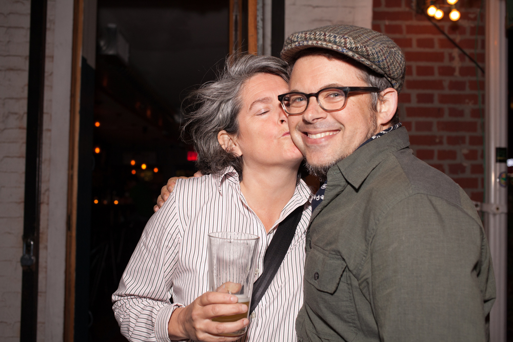 QUEER | ART | BROOKLYN   event. September 2014. Photo by Ryan Morris.