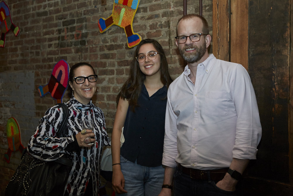 Copy of Esther McGowan and Frank Lord at Caroline Wells Chandler Opening Reception for Queer|Art|Pride at Wythe Hotel, June 2017. (Photo by Eric McMatt)