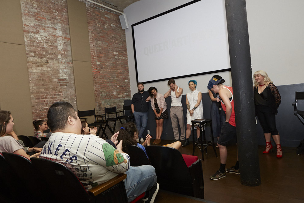 Copy of M.F.A. (dir. Natalia Leite) Q&A w/ cast & crew for Queer|Art|Pride at Wythe Hotel, June 2017. (Photo by Eric McNatt)