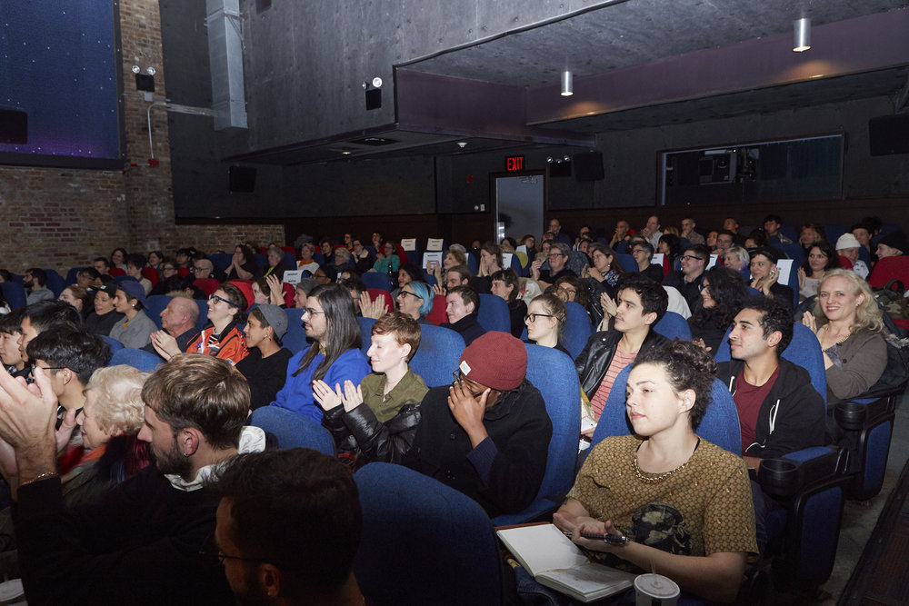 "Audience at ""The Hammer Mix"" (Photo by Eric McNatt)"