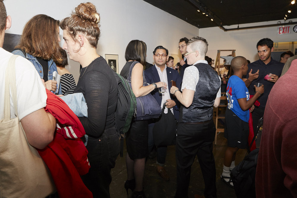 Opening Reception of QAM 2016-2017 Annual Exhibition 03 (Photo by Eric McNatt)