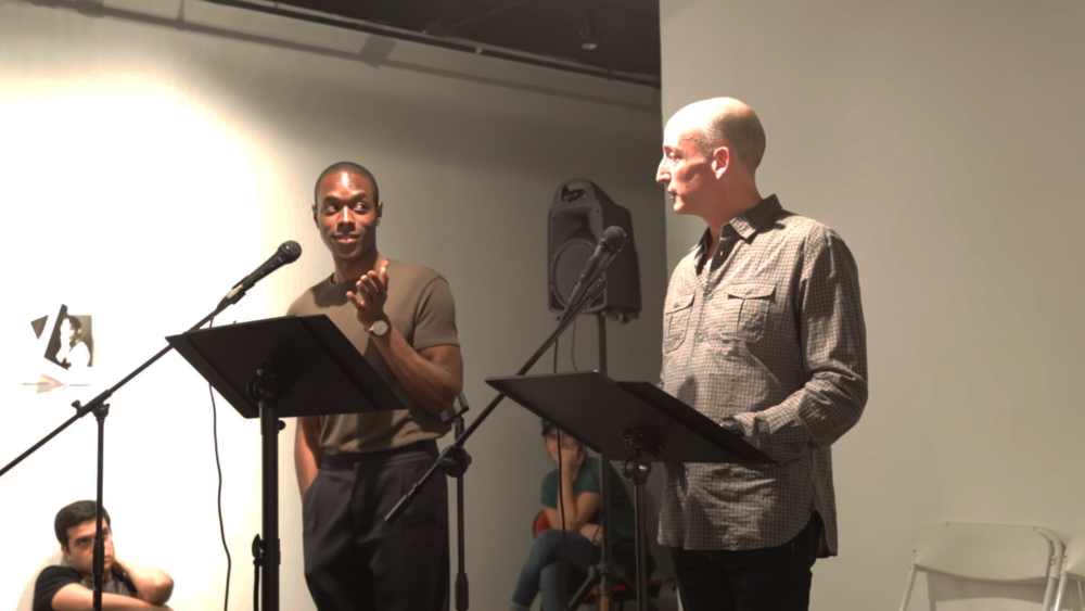 Ronald Peet and Paul D. Young Performing at Live Event of QAM 2016-2017 Annual Exhibition 02 (Photo by Queer Art)