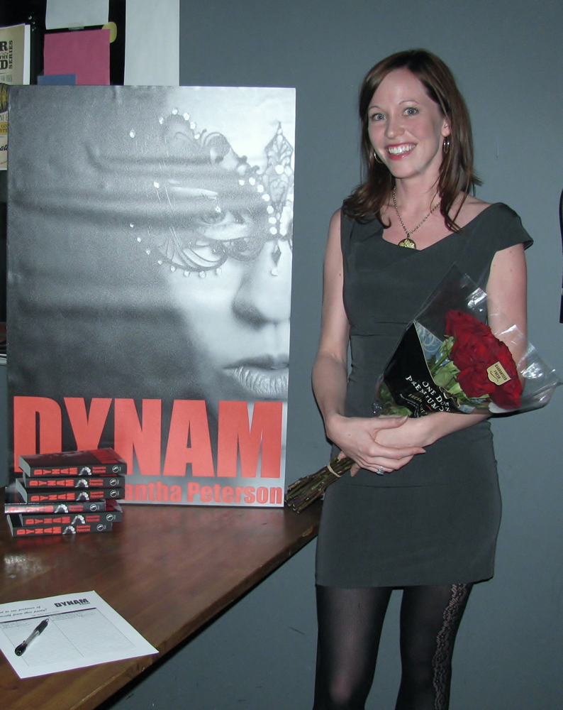 Denver Author Samantha Peterson Dynam Launch Party Our Mutual Friend Malt & Brew Denver Colorado