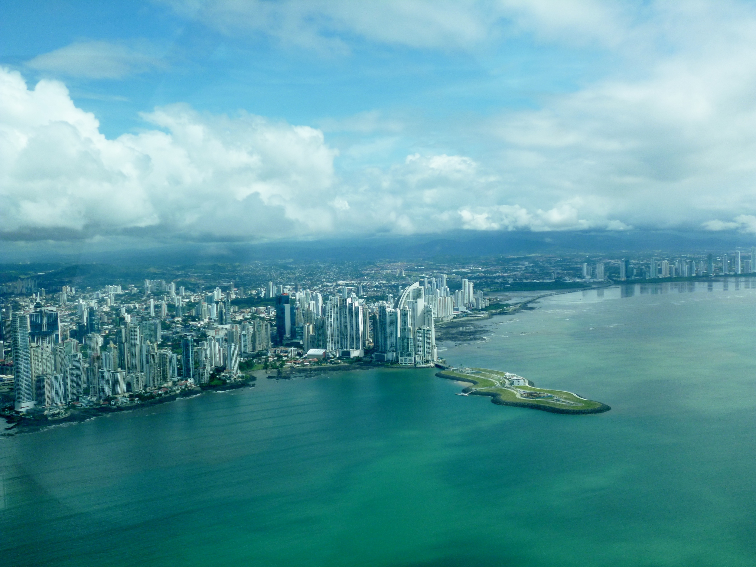 Panama Prop Plane