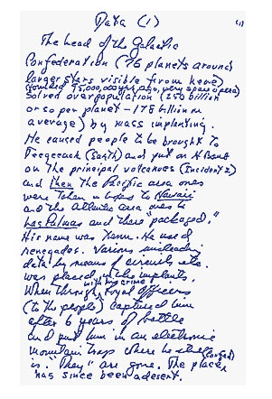 scientology letter