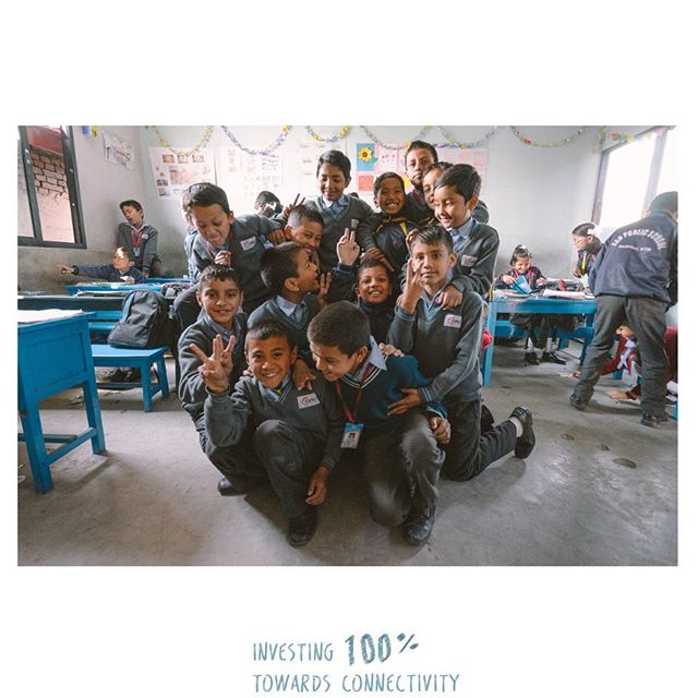 We've pledged to invest 100% of our profits from our first magazine, Chapter One : Nepal, into connecting remote schools to the internet.