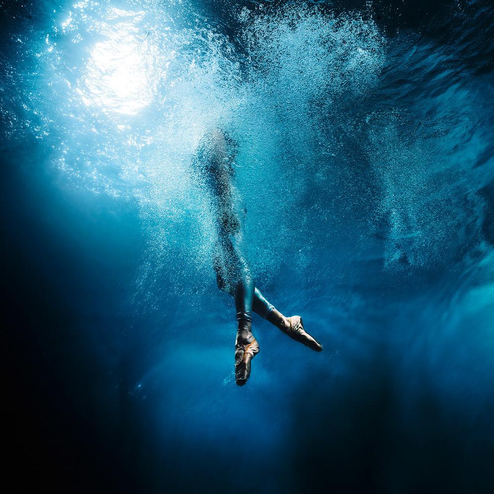 under water ballet