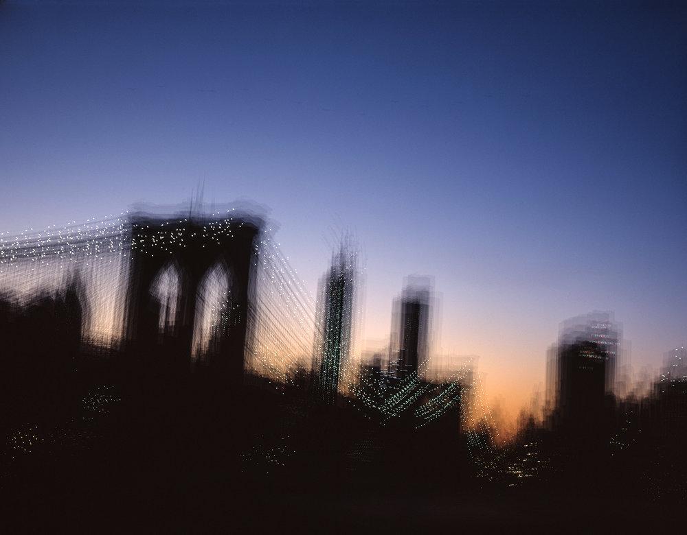 brooklyn bridge by night no 02
