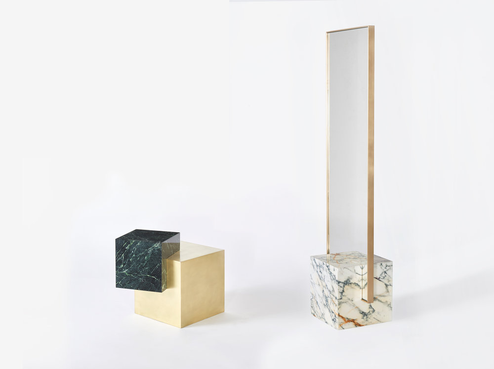 Slash-Objects---Standing-Mirror-and-Side-Table-2017---Marble-and-Brass-.jpg