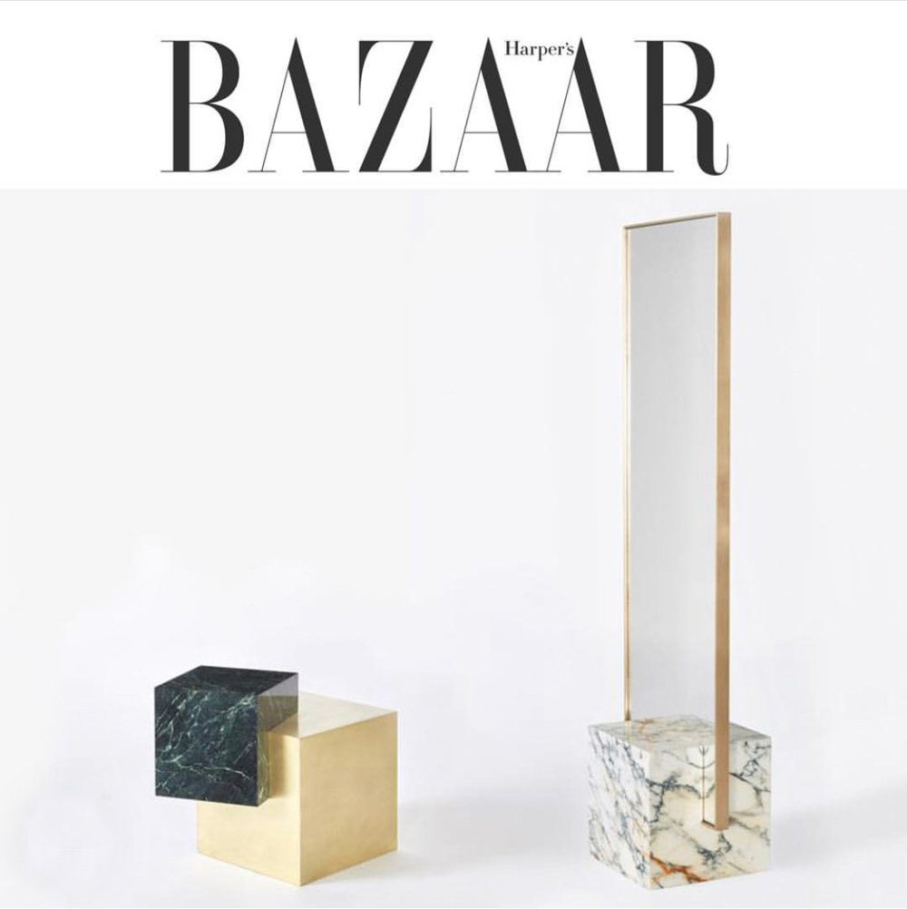 Slash Objects Coexist Collection in Harpers Bazaar