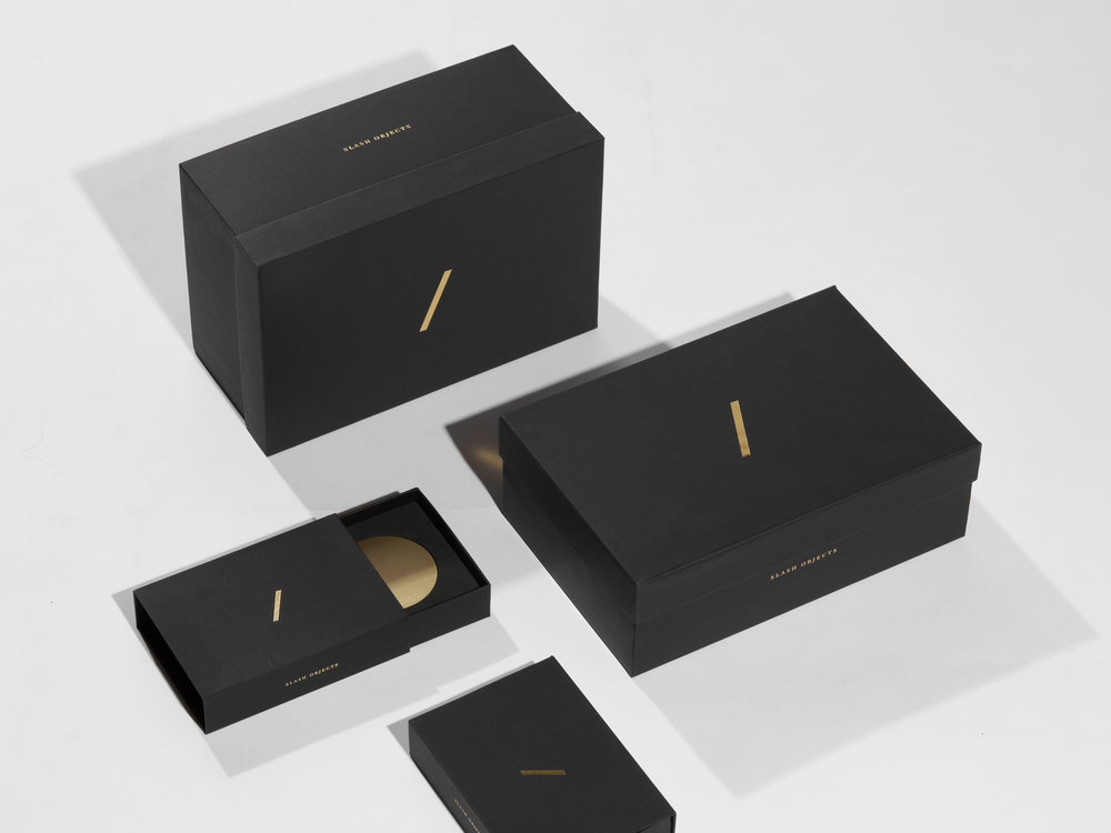 Slash Objects Packaging Design by Slash Projects