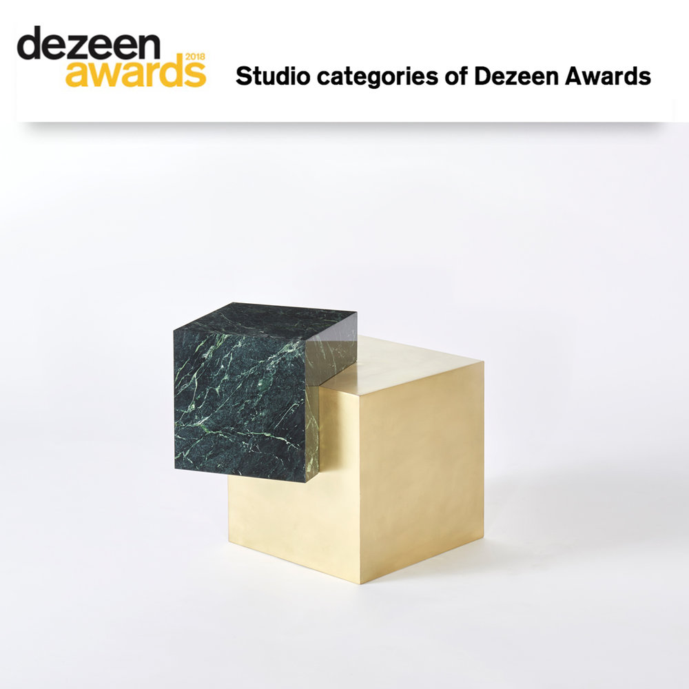 Slash Objects finalist for the Dezeen Awards Emerging Designer of the Year Award.