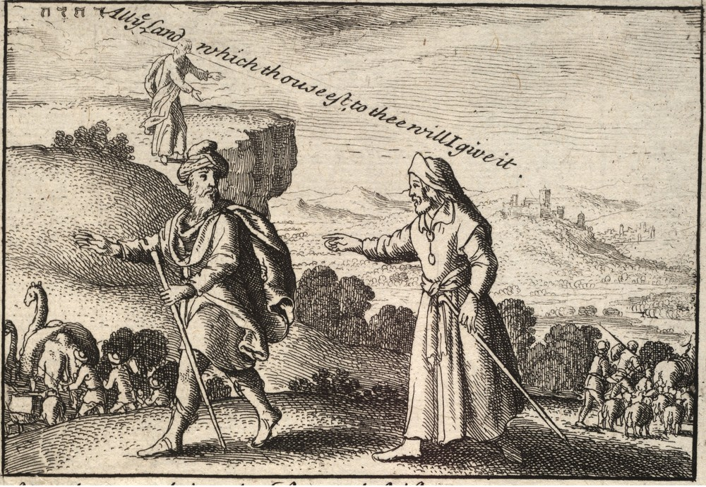 Wenceslas_Hollar_-_Abraham_and_Lot_separating_(State_2)