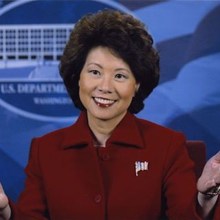 Elaine L. Chao, our new Secretary of Transportation