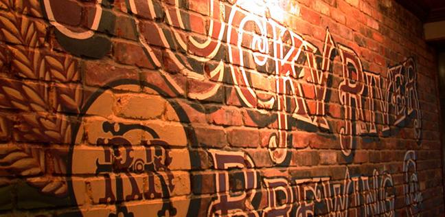 Interior branding - mural