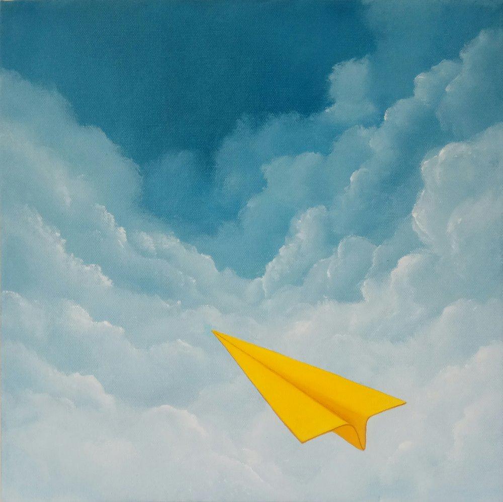 Ivor Cole's 'Yonder' 30 x 30 cm