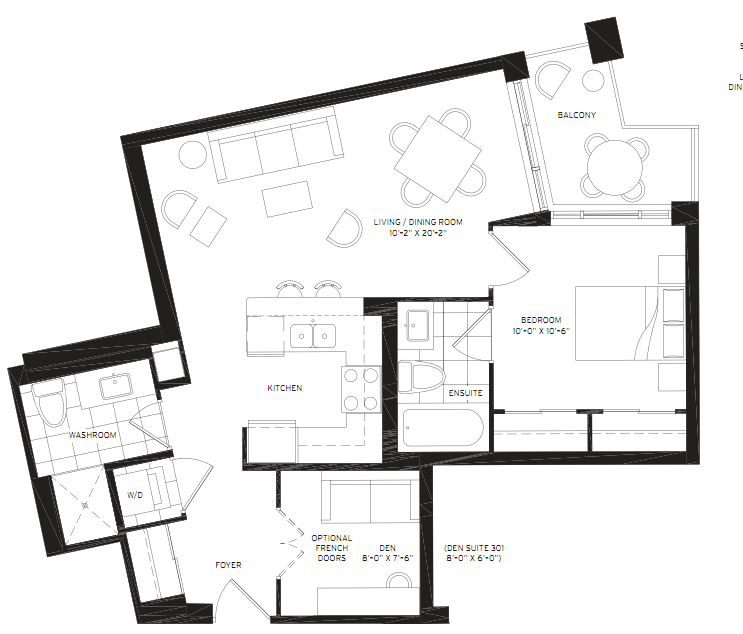 Floorplan of 8130 Birchmount Road #501