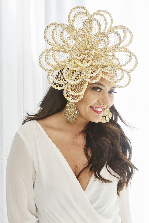 Golden Goddess headpiece from IM Designs