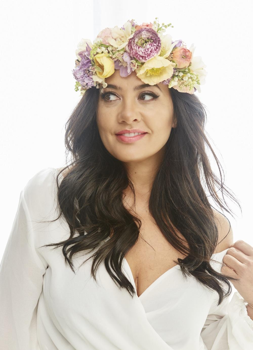 Fresh Flower Crown from Flowers Vasette