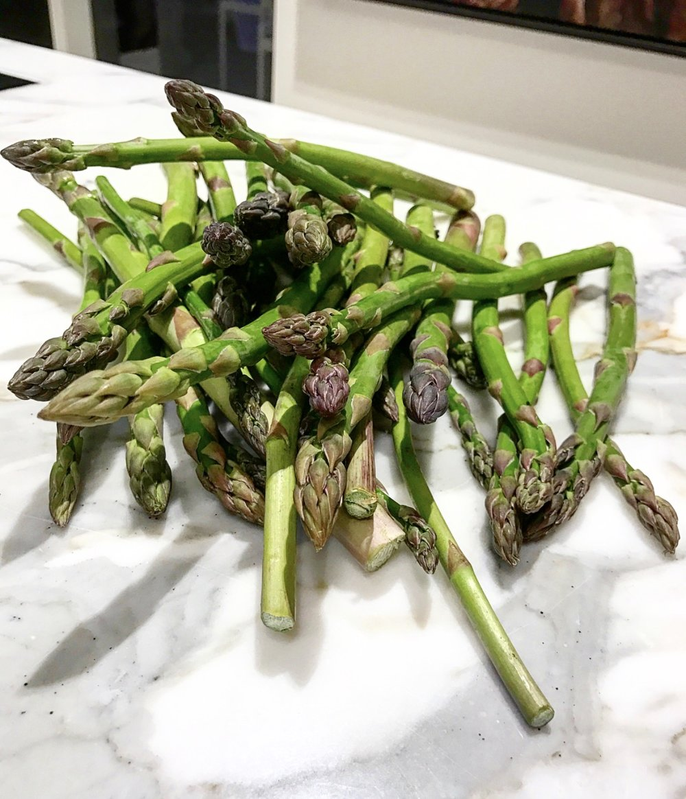 Asparagus in season