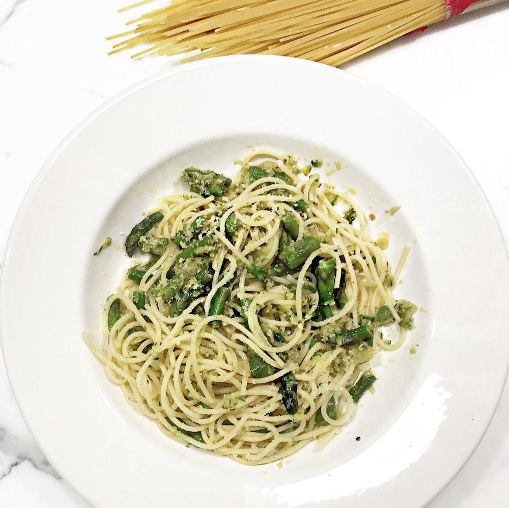 Pasta Asparagus + Zucchini