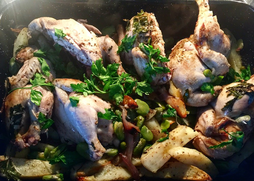 Nothing nicer than an easy chicken dish