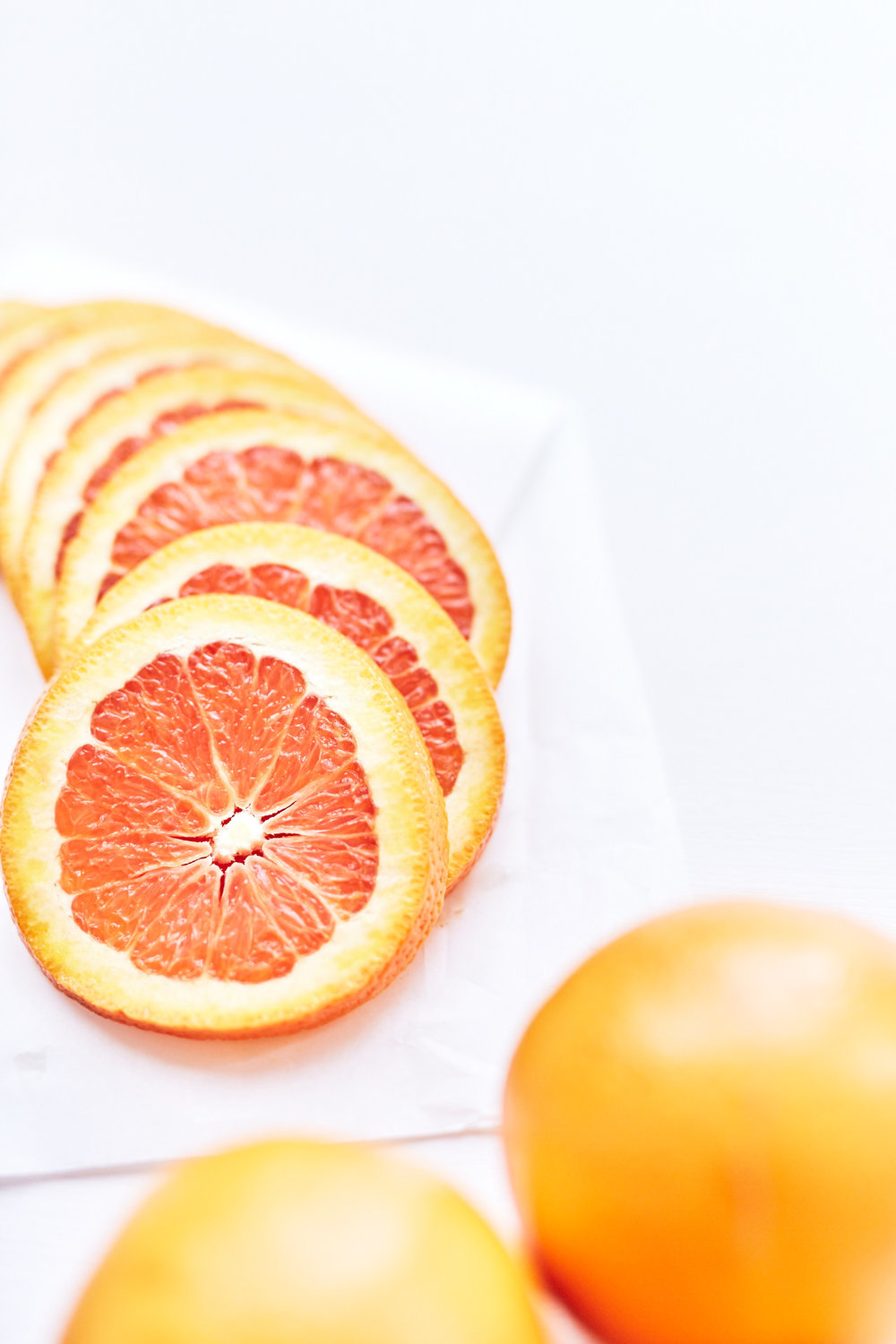 Oranges are in season and so delicious