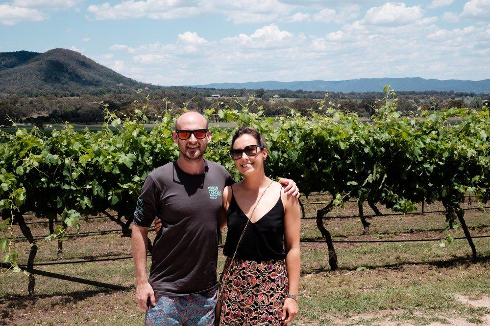 Robert Stein winery in Mudgee