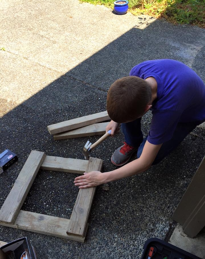 Planning and carrying out his own projects helps our teen learn through trial and error.