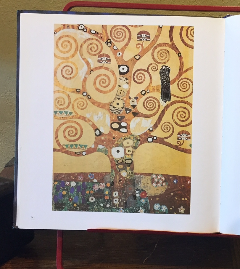 Image from the book Klimt, published by Grange Books. (This is an extensive collection and is not one I would hand to kids to look at. I am personally not comfortable with all of the pieces in this book.)