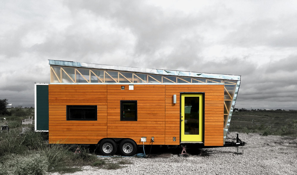 "Kinetohaus - ""Kinetohaus"" translated simply means ""moving house;"" in designing and building a tiny house on wheels in which to live while I attend graduate architecture school at the University of Texas at Austin, I was inspired by the flexibility and dynamism of lifestyle that comes with tiny houses.Publications:Going Tiny: Failure + Opportunity in the Future of Affordable Housing [2018]UT Live @ SXSW [March 2017]CNN en Marcha  [March 2017]Austin Home Magazine [Spring 2017]""Tiny House, Big Living,"" HGTV [January 2017]The Bison, Harding University [January 2017]UTSOA E-News [October 2016]"