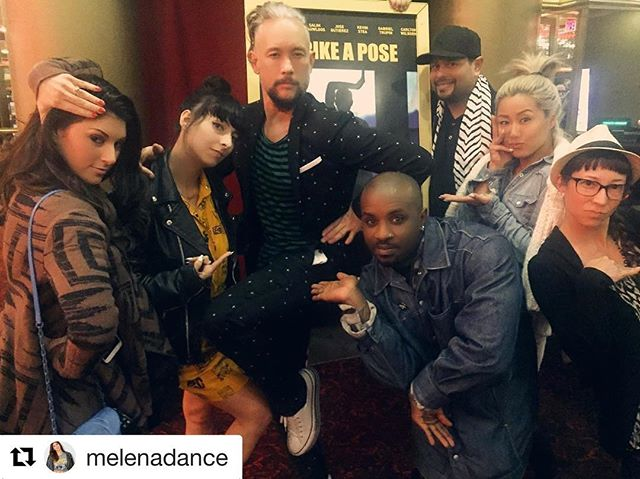 #Repost @melenadance ・・・ Striking a pose with two of the legendary game changers from #Madonna's #BlondAmbition tour at the screening of @Strikeaposefilm last night 🙌🏼 Inspired and grateful for your generosity and vulnerability from then until now. Thank you for such an authentic, inspiring and heartfelt film @1luisxtrava @kevinstea @carltonwilbornrising @fatherjose.xtravaganza @salim.guawloos @olivercrumesrevilohiphop #GabrielTrupin ❤️🙏🏼 GO SEE THIS FILM!!! Visit Madonnadancers.com for more info!  #Respect #danceicons #StrikeaPose #truthordare #madonnadancers #dance #dancers