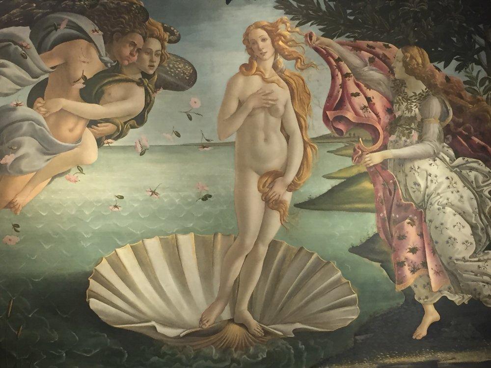 Botticelli's The Birth of Venice
