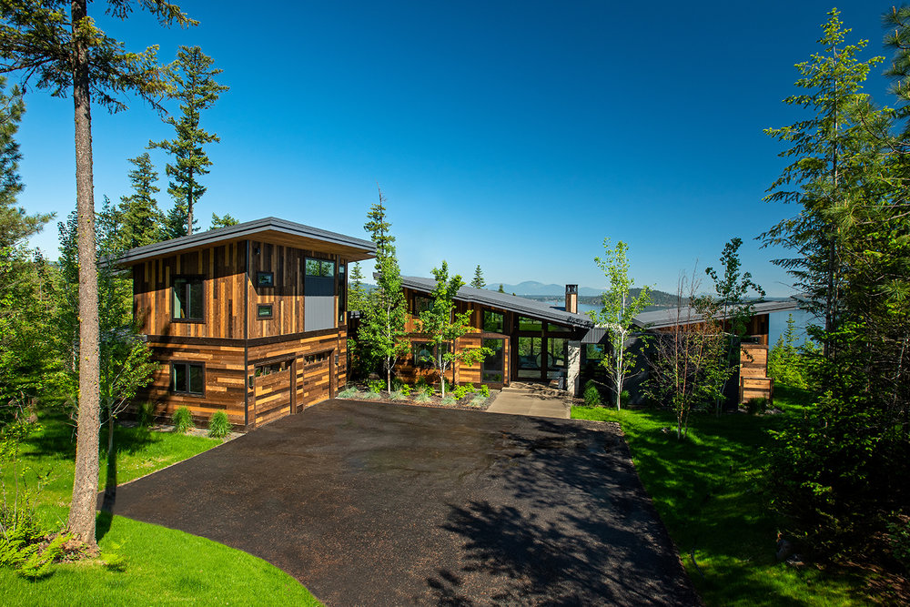 GOZZER RESIDENCE     COEUR D'ALENE, IDAHO    VIEW PROJECT