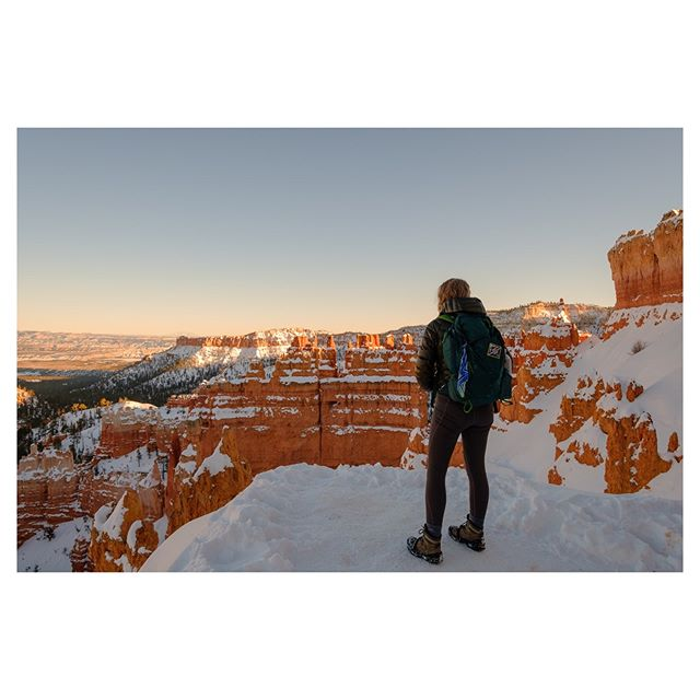 We hiked up to sunset point to catch the last light and it didn't disappoint. There are the shots we all know of Bryce but I was just as taken by how the deep shadows create whole new ways of seeing this iconic place.