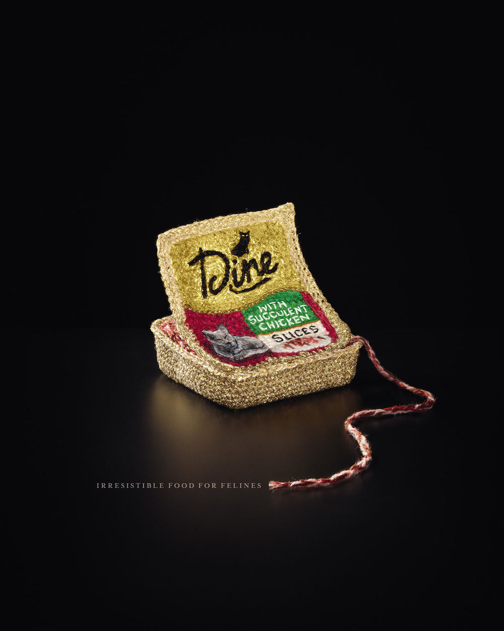 Dine  Agency: Clemenger BBDO  Creative Director: Luke Hawkins  Creative Director: Ben Smith  Art Director: Dan White  Copywriter: Simon Gibson  Retouching: Cream Studios