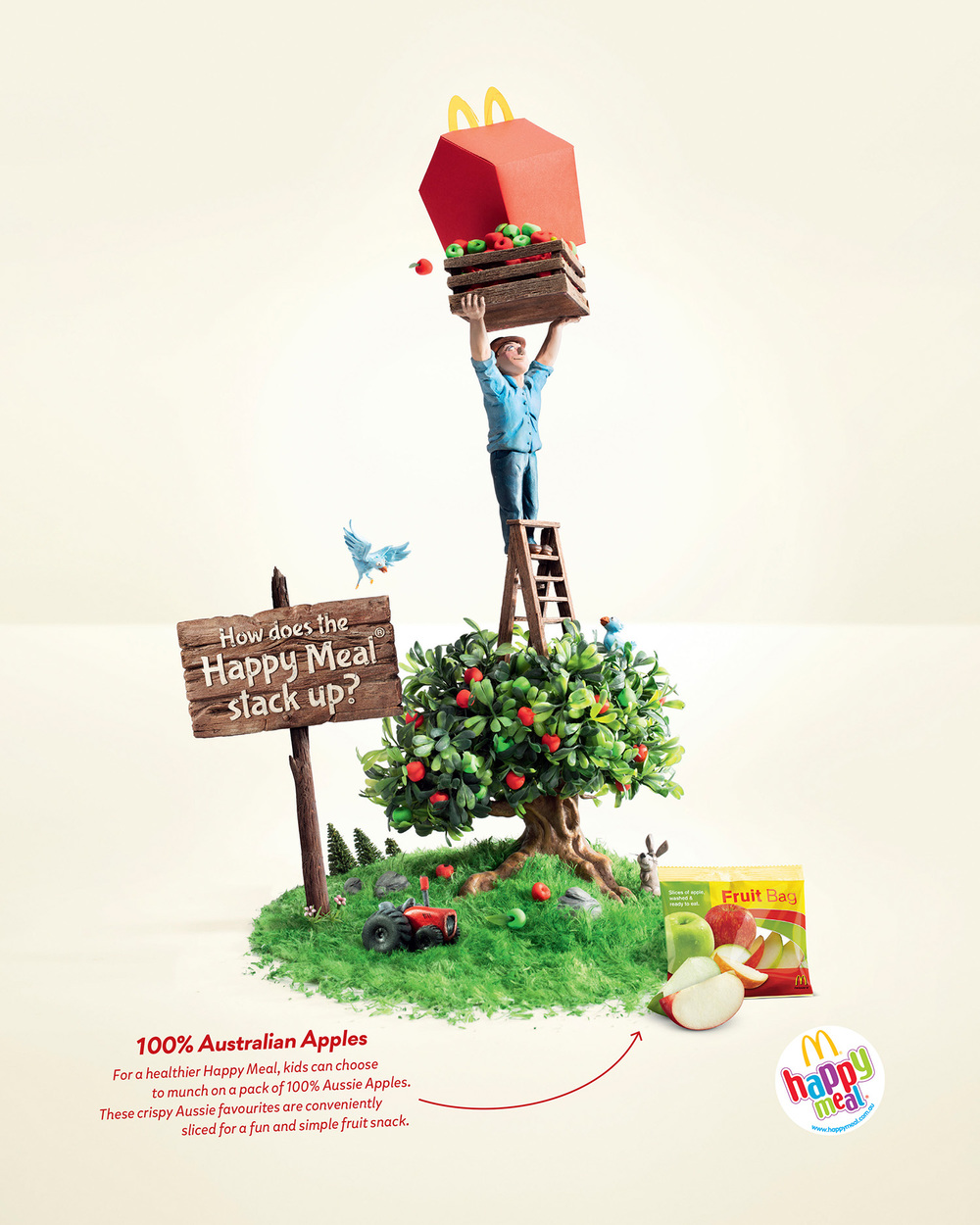 McDonalds  Agency: Leo Burnett  Art Director: Brendan Donnelly  Copywriter: Guy Futcher  Retouching: Electric Art