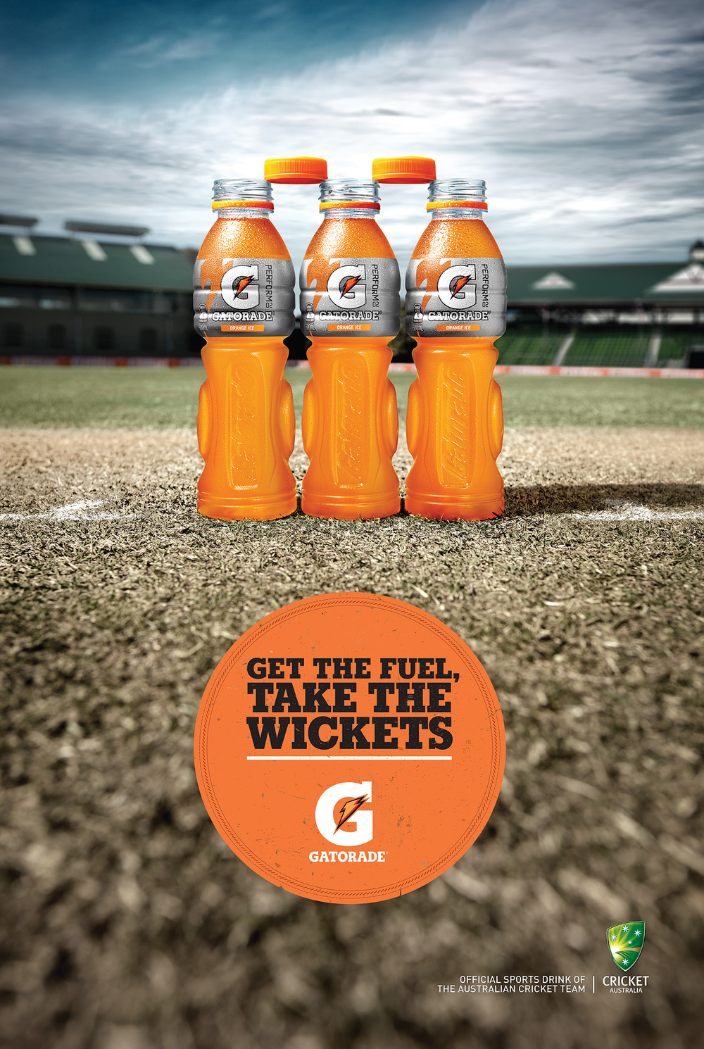 Client: Gatorade      Agency: DDB Sydney      Art Director: Rich Robson
