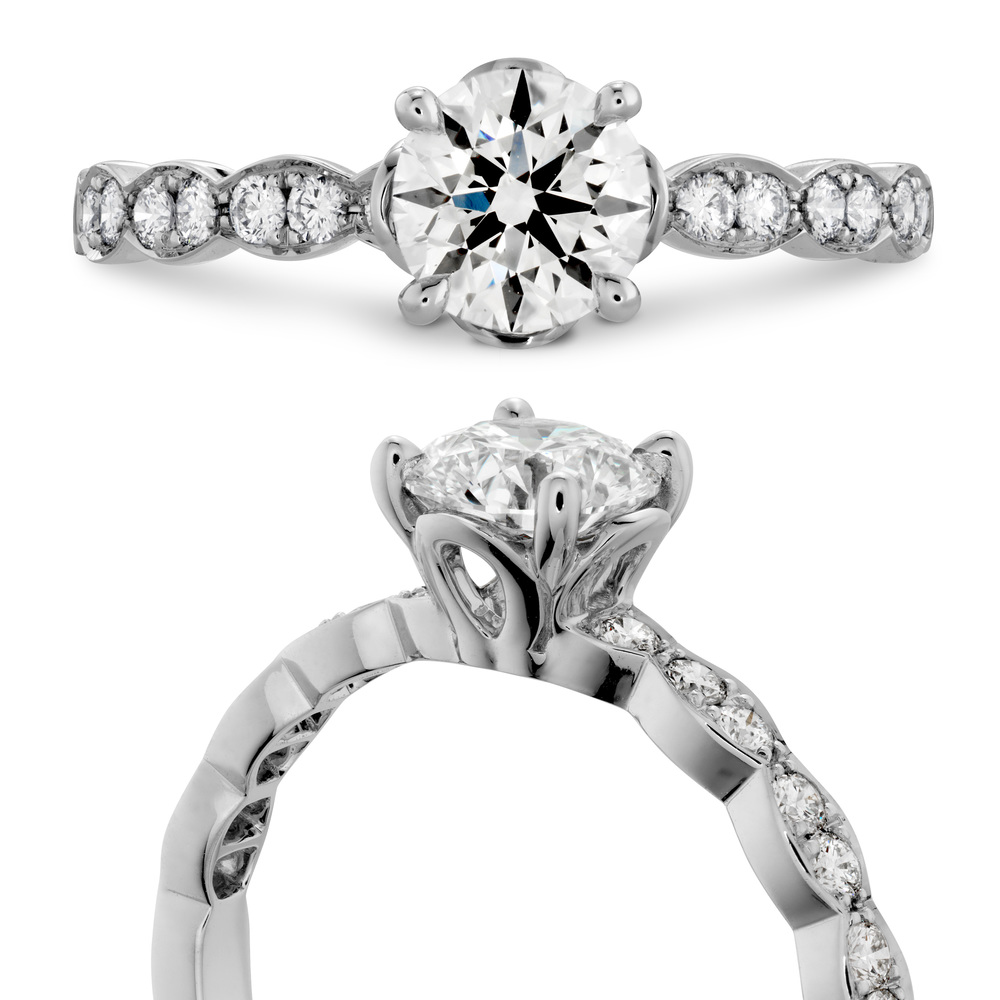 Hearts on Fire Ring | Van Gundys | Camarillo CA Jewelers