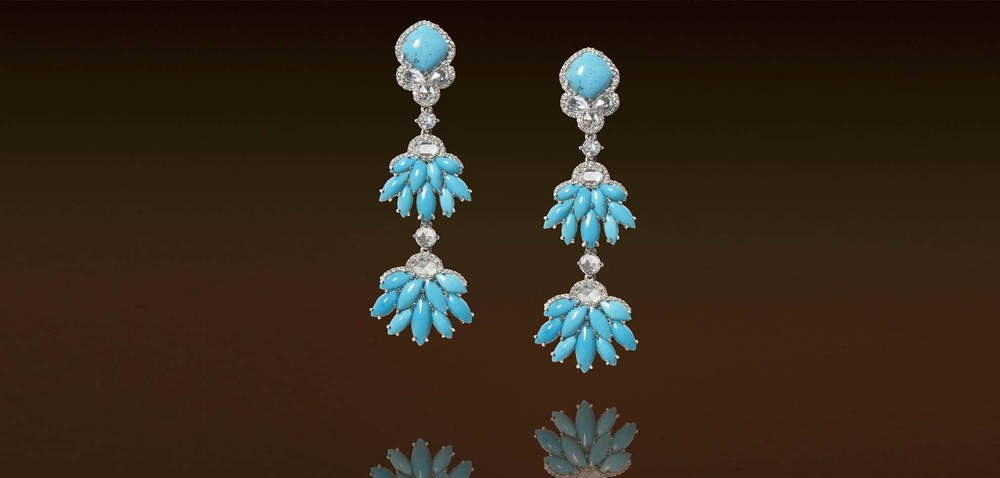 JJewels Blue Earrings | Van Gundys