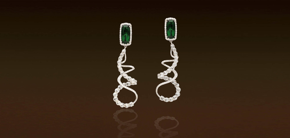 JJewels Emerald Earrings | Van Gundy Jewelers