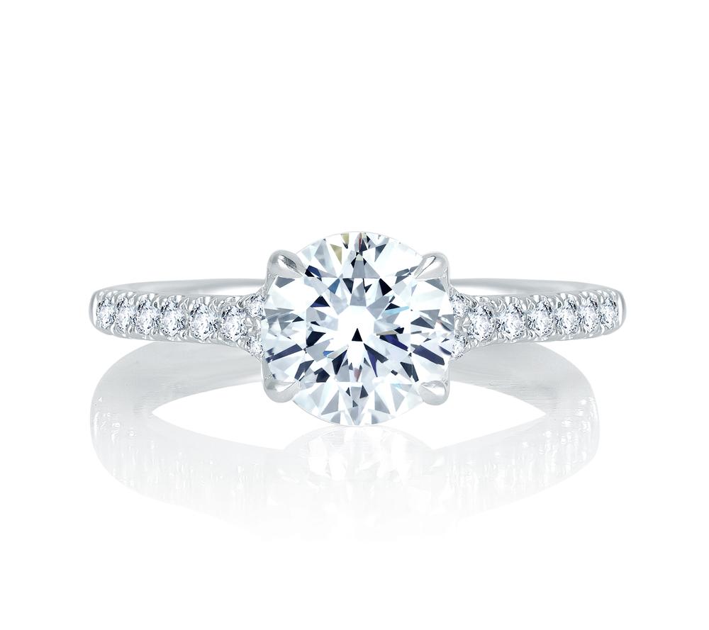 Classic Engagement Ring | Ventura, CA | Van Gundys
