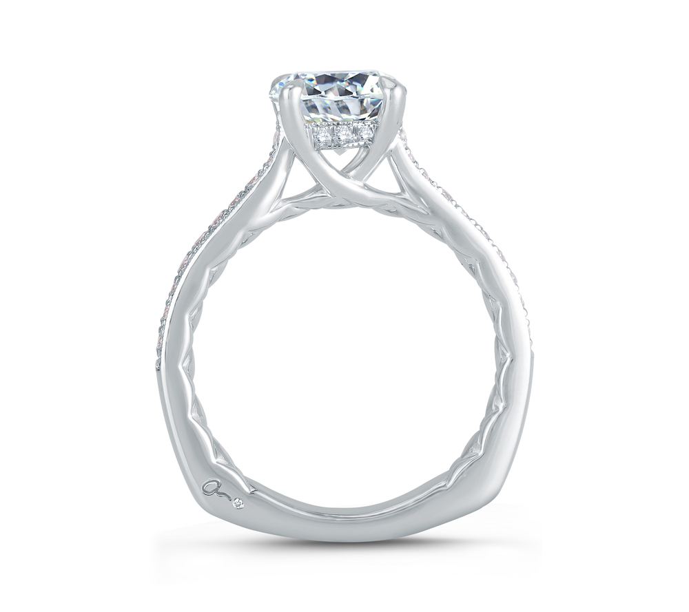 Diamond Engagement Ring | Ventura Jewelers | Van Gundys