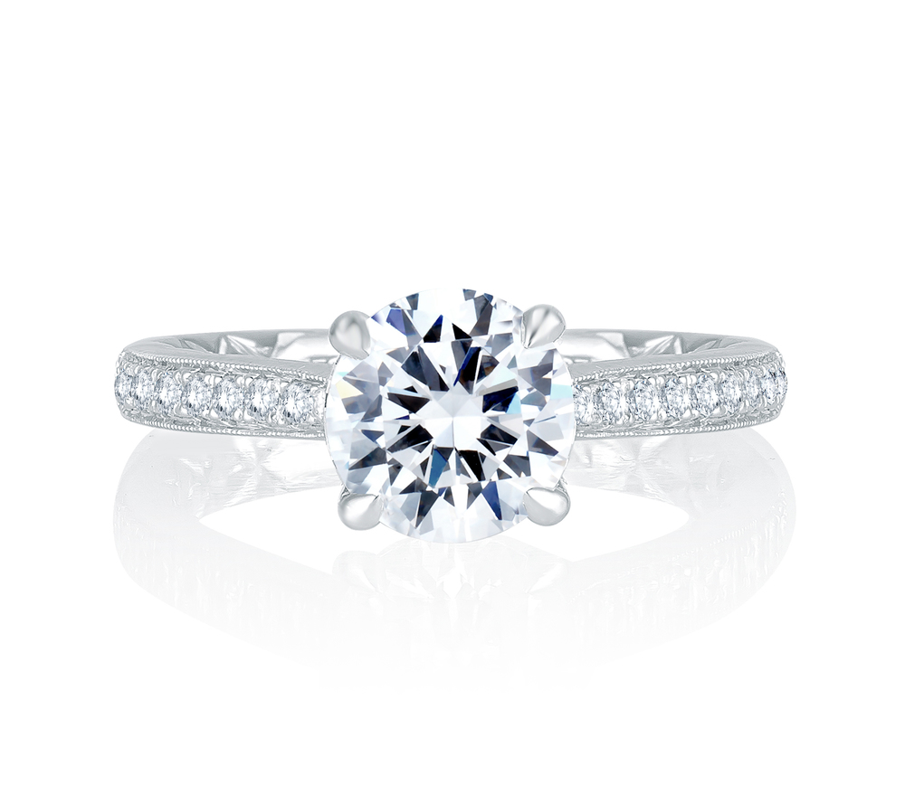 Diamond Engagement Ring | Camarillo Jewelers | Van Gundys
