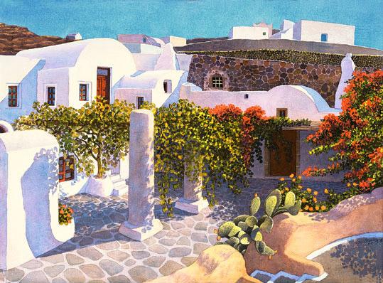 Aegean Courtyard